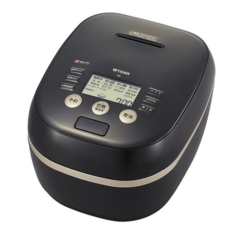 タイガー魔法瓶 土鍋圧力IH炊飯器 JPH-G100 K ブラック 炊飯容量:5.5合