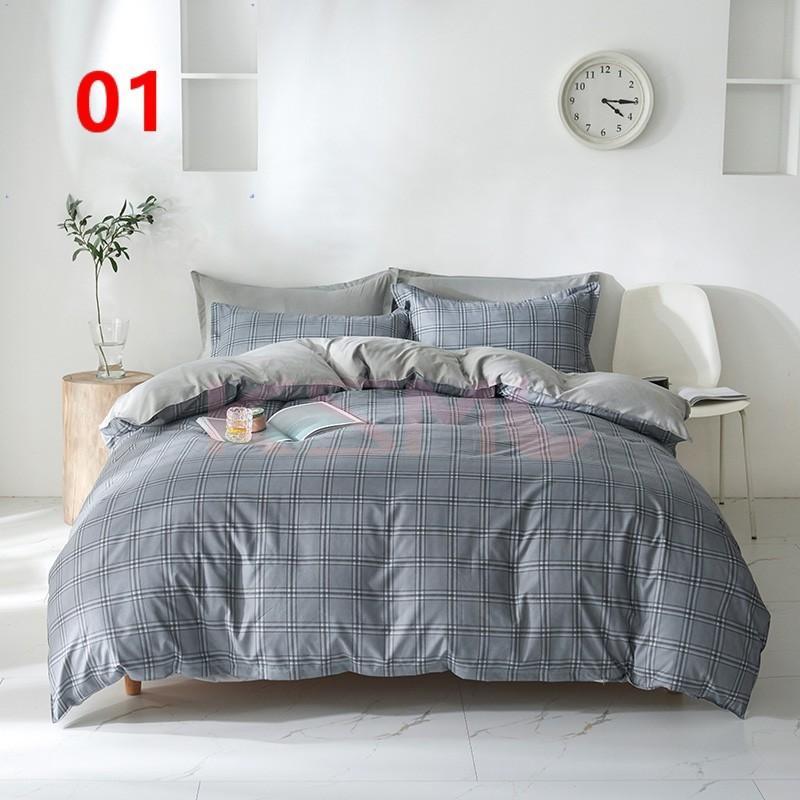 布団カバー セット シングル ベッドカバー 寝具セット 枕カバー おしゃれ 四季通用 北欧風 柔らかい 洗える 防ダニ 洋式和式兼用 セミダブル ダブル クイーンhq|ksmc-shop|02