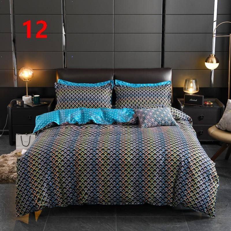 布団カバー セット シングル ベッドカバー 寝具セット 枕カバー おしゃれ 四季通用 北欧風 柔らかい 洗える 防ダニ 洋式和式兼用 セミダブル ダブル クイーンhq|ksmc-shop|13
