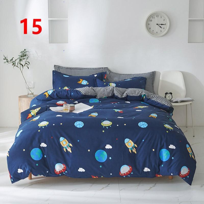 布団カバー セット シングル ベッドカバー 寝具セット 枕カバー おしゃれ 四季通用 北欧風 柔らかい 洗える 防ダニ 洋式和式兼用 セミダブル ダブル クイーンhq|ksmc-shop|16