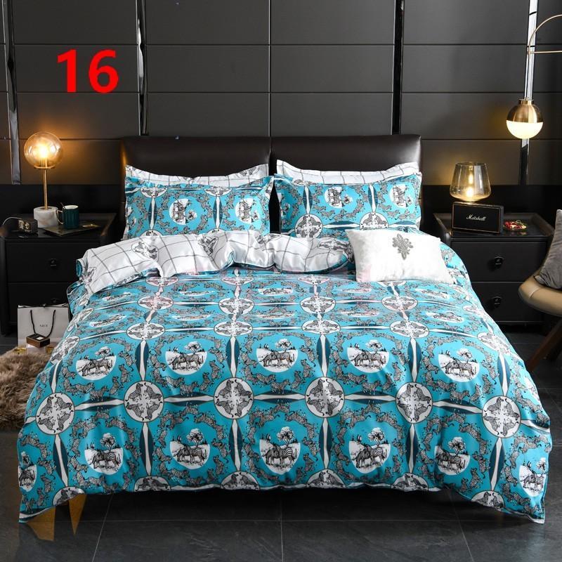 布団カバー セット シングル ベッドカバー 寝具セット 枕カバー おしゃれ 四季通用 北欧風 柔らかい 洗える 防ダニ 洋式和式兼用 セミダブル ダブル クイーンhq|ksmc-shop|17