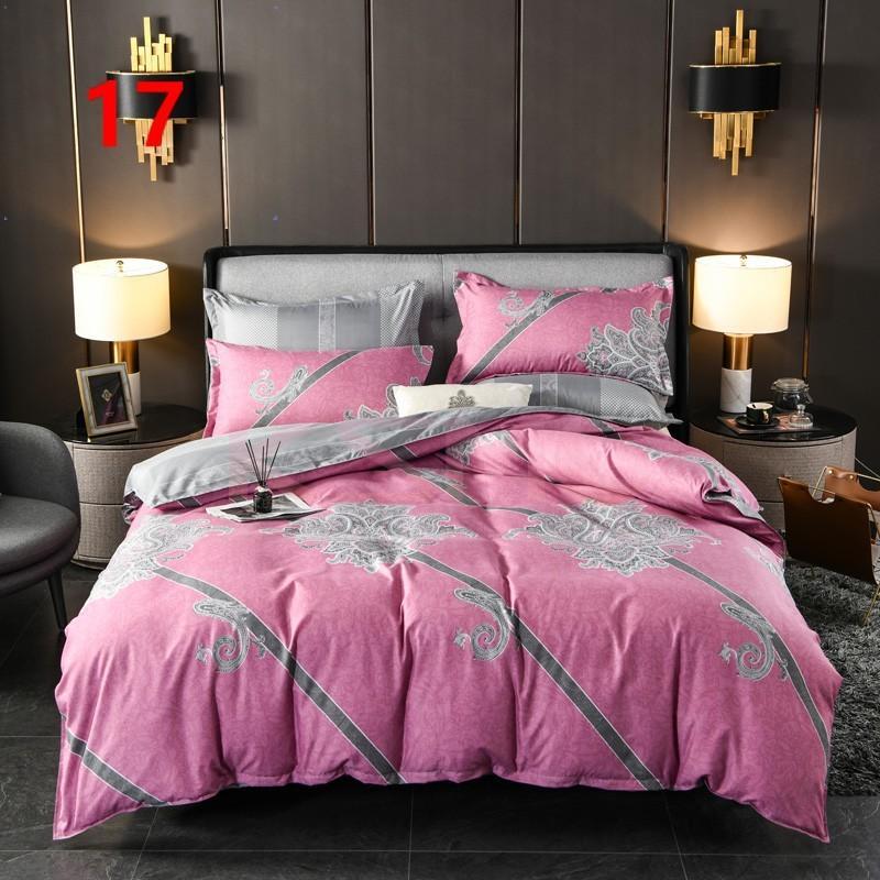 布団カバー セット シングル ベッドカバー 寝具セット 枕カバー おしゃれ 四季通用 北欧風 柔らかい 洗える 防ダニ 洋式和式兼用 セミダブル ダブル クイーンhq|ksmc-shop|18