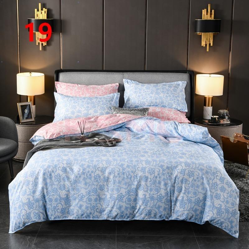 布団カバー セット シングル ベッドカバー 寝具セット 枕カバー おしゃれ 四季通用 北欧風 柔らかい 洗える 防ダニ 洋式和式兼用 セミダブル ダブル クイーンhq|ksmc-shop|20