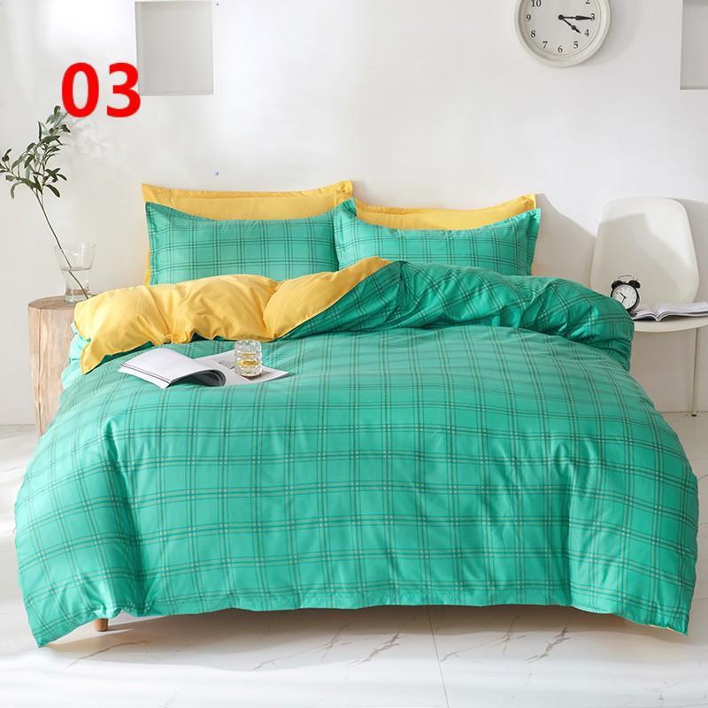 布団カバー セット シングル ベッドカバー 寝具セット 枕カバー おしゃれ 四季通用 北欧風 柔らかい 洗える 防ダニ 洋式和式兼用 セミダブル ダブル クイーンhq|ksmc-shop|04