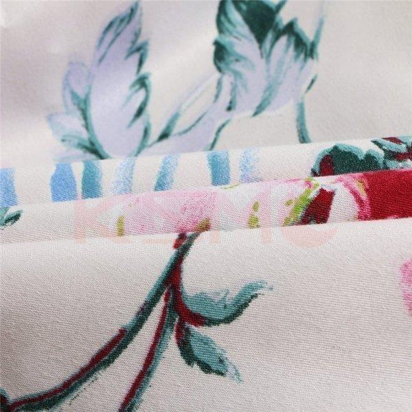 布団カバー 4点セット セミダブル 掛け布団カバー 枕カバー 寝具セット ベッド用 洋式和式兼用 四季通用 肌に優しい ギフト プレゼント 花柄|ksmc-shop|11