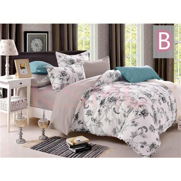 布団カバー 4点セット セミダブル 掛け布団カバー 枕カバー 寝具セット ベッド用 洋式和式兼用 四季通用 肌に優しい ギフト プレゼント 花柄|ksmc-shop|16