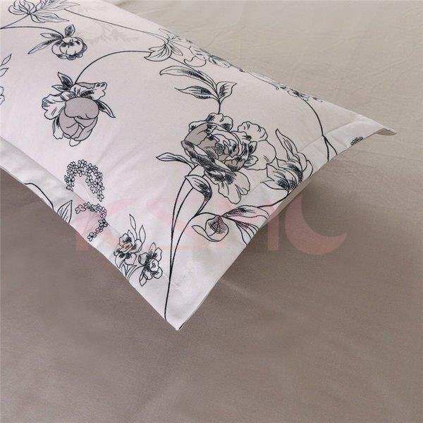布団カバー 4点セット セミダブル 掛け布団カバー 枕カバー 寝具セット ベッド用 洋式和式兼用 四季通用 肌に優しい ギフト プレゼント 花柄|ksmc-shop|04