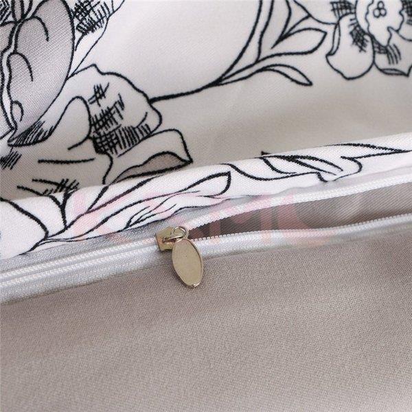 布団カバー 4点セット セミダブル 掛け布団カバー 枕カバー 寝具セット ベッド用 洋式和式兼用 四季通用 肌に優しい ギフト プレゼント 花柄|ksmc-shop|07