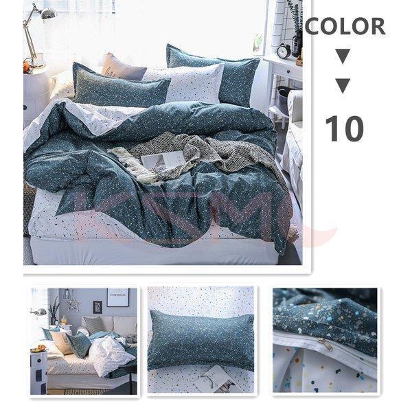 布団カバー シングル 3点セット 寝具セット 枕カバー 掛け布団カバー 寝具カバー 洋式和式兼用 ベッド用 防臭 防ダニ 抗菌 洗える 速乾 かわいい|ksmc-shop|11