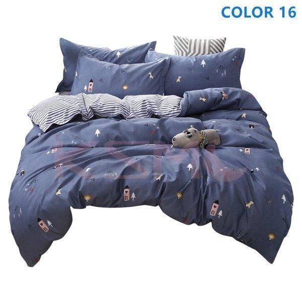 布団カバーセット シングル セミダブル おしゃれ 北欧風 柔らかい ベッドカバー 寝具セット 枕カバー 四季通用 肌に優しい 花柄 可愛い 防臭 防ダニ|ksmc-shop|10