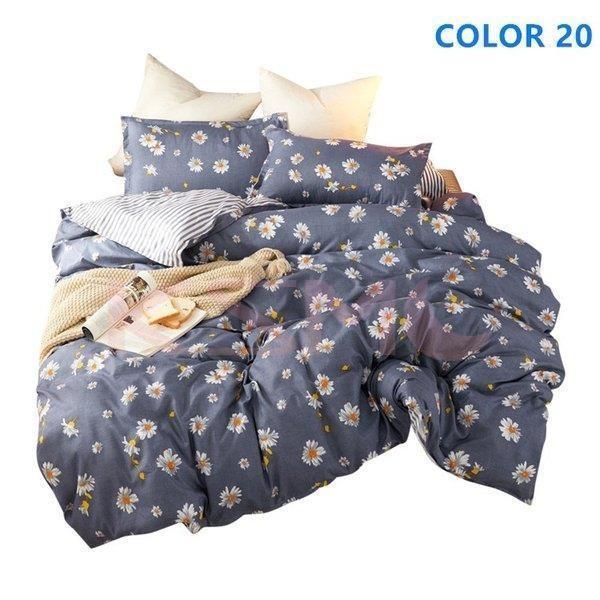 布団カバーセット シングル セミダブル おしゃれ 北欧風 柔らかい ベッドカバー 寝具セット 枕カバー 四季通用 肌に優しい 花柄 可愛い 防臭 防ダニ|ksmc-shop|13