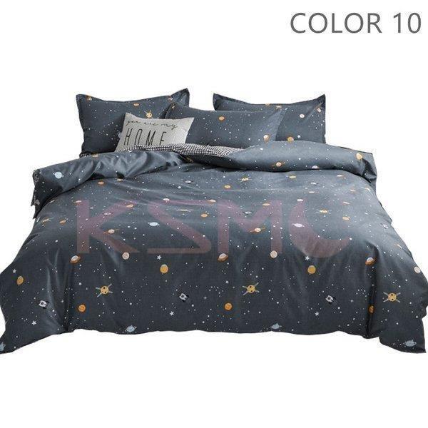 ベッドカバー 布団カバー セット シングル セミダブル ダブル 寝具セット 枕カバー おしゃれ 四季通用 北欧風 柔らかい クイーン 防ダニ 洋式和式兼用 可愛い|ksmc-shop|11