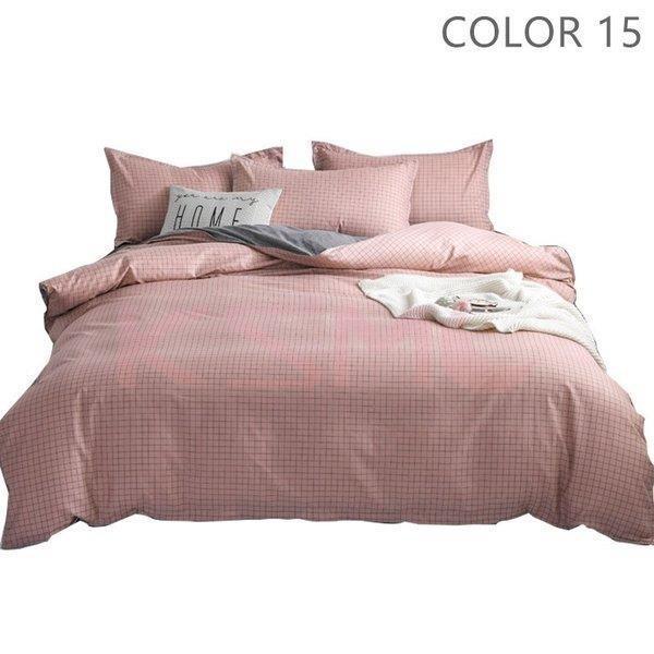 ベッドカバー 布団カバー セット シングル セミダブル ダブル 寝具セット 枕カバー おしゃれ 四季通用 北欧風 柔らかい クイーン 防ダニ 洋式和式兼用 可愛い|ksmc-shop|16