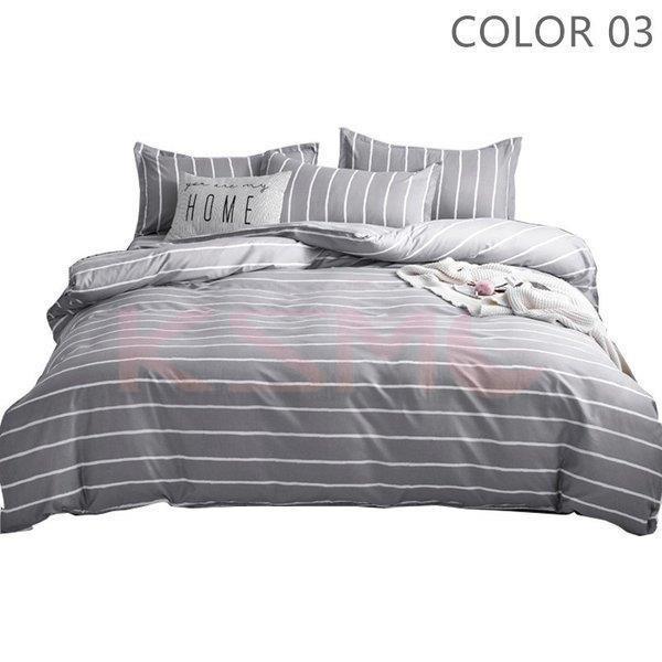 ベッドカバー 布団カバー セット シングル セミダブル ダブル 寝具セット 枕カバー おしゃれ 四季通用 北欧風 柔らかい クイーン 防ダニ 洋式和式兼用 可愛い|ksmc-shop|04