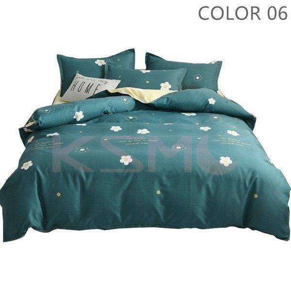 ベッドカバー 布団カバー セット シングル セミダブル ダブル 寝具セット 枕カバー おしゃれ 四季通用 北欧風 柔らかい クイーン 防ダニ 洋式和式兼用 可愛い|ksmc-shop|07