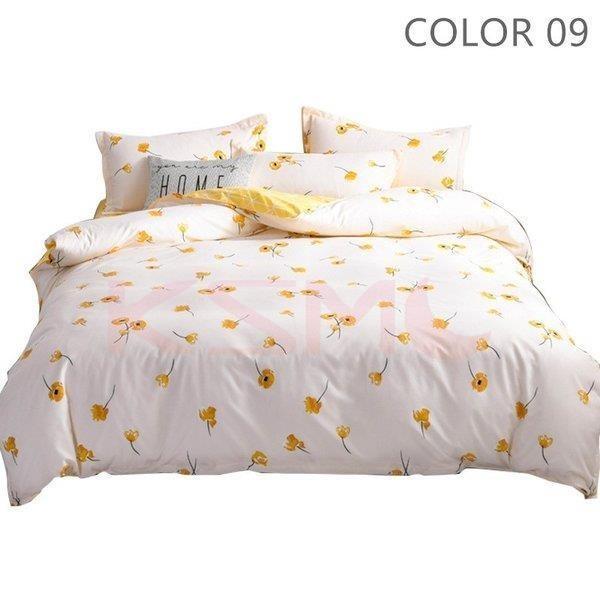 ベッドカバー 布団カバー セット シングル セミダブル ダブル 寝具セット 枕カバー おしゃれ 四季通用 北欧風 柔らかい クイーン 防ダニ 洋式和式兼用 可愛い|ksmc-shop|10