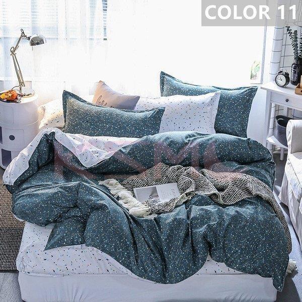 布団カバー セット シングル セミダブル ダブル クイーン 寝具セット シーツカバー 枕カバー おしゃれ 北欧風 洋式和式兼用 かわいい 防ダニ 洗える 柔らかい|ksmc-shop|11