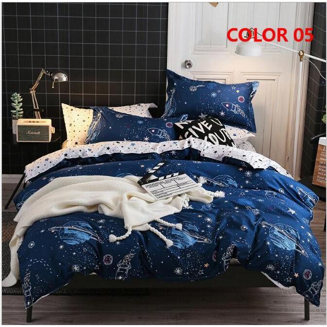 布団カバー セット シングル セミダブル ダブル クイーン 寝具セット シーツカバー 枕カバー おしゃれ 北欧風 洋式和式兼用 かわいい 防ダニ 洗える 柔らかい|ksmc-shop|06
