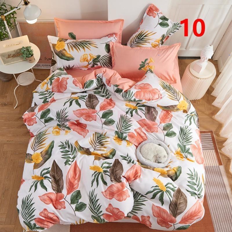 布団カバー 3点セット シングル 150x210cm シーツカバー 寝具セット 枕カバー 掛けカバー ベッド用 洋式和式兼用 洗える 北欧風 柔らかい 防ダニ 抗菌防臭|ksmc-shop|10