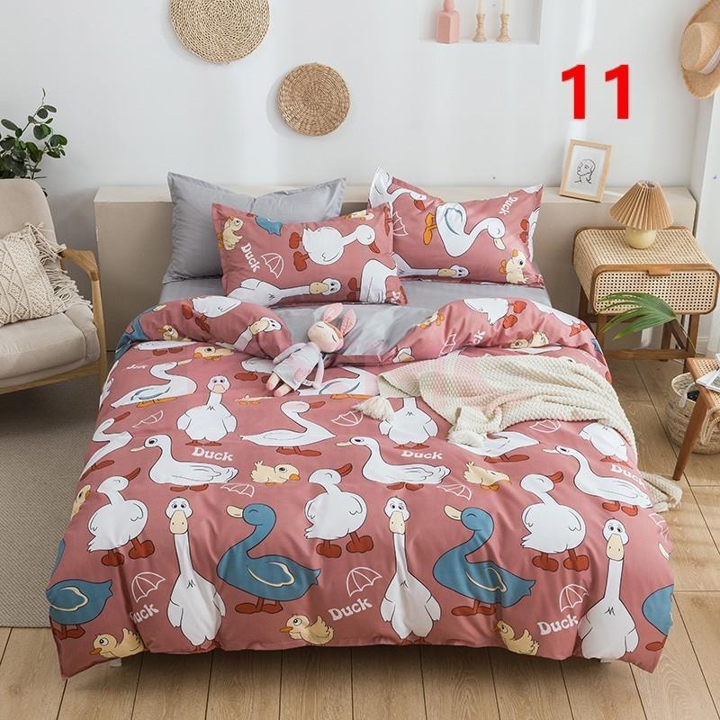 布団カバー 3点セット シングル 150x210cm シーツカバー 寝具セット 枕カバー 掛けカバー ベッド用 洋式和式兼用 洗える 北欧風 柔らかい 防ダニ 抗菌防臭|ksmc-shop|11