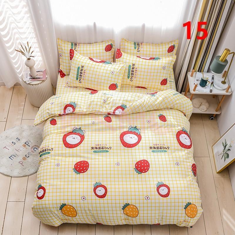 布団カバー 3点セット シングル 150x210cm シーツカバー 寝具セット 枕カバー 掛けカバー ベッド用 洋式和式兼用 洗える 北欧風 柔らかい 防ダニ 抗菌防臭|ksmc-shop|15