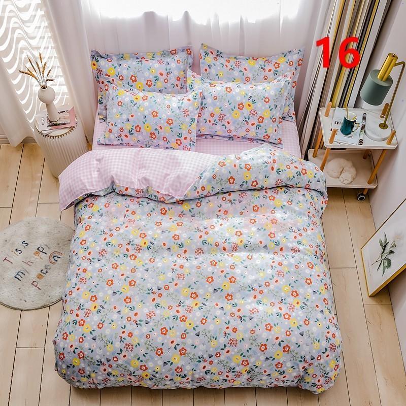 布団カバー 3点セット シングル 150x210cm シーツカバー 寝具セット 枕カバー 掛けカバー ベッド用 洋式和式兼用 洗える 北欧風 柔らかい 防ダニ 抗菌防臭|ksmc-shop|16