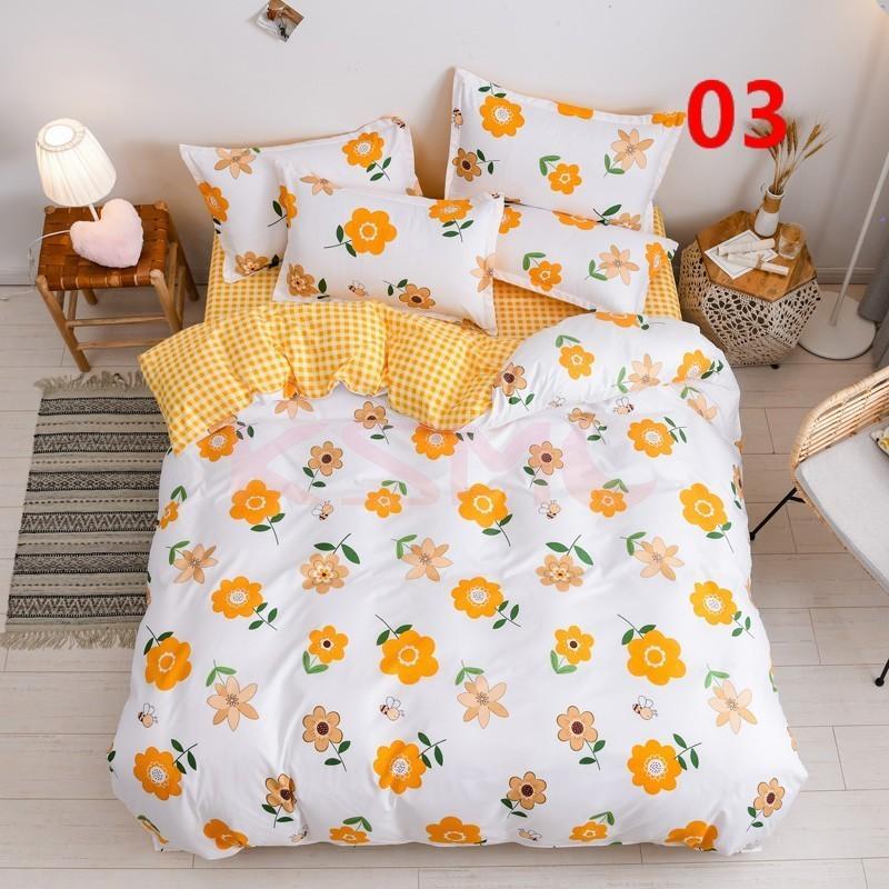 布団カバー 3点セット シングル 150x210cm シーツカバー 寝具セット 枕カバー 掛けカバー ベッド用 洋式和式兼用 洗える 北欧風 柔らかい 防ダニ 抗菌防臭|ksmc-shop|04