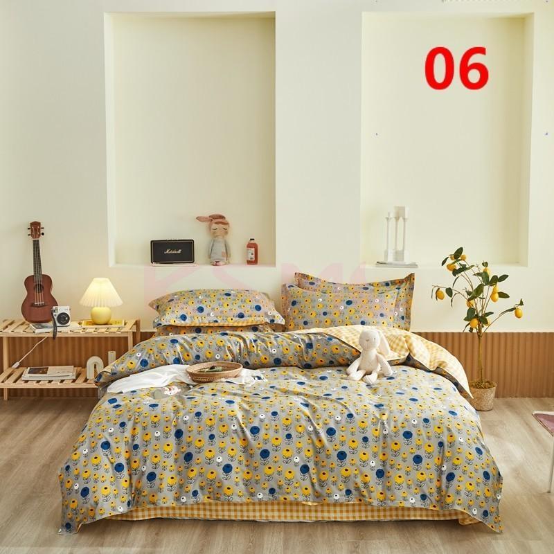 布団カバー 3点セット シングル 150x210cm シーツカバー 寝具セット 枕カバー 掛けカバー ベッド用 洋式和式兼用 洗える 北欧風 柔らかい 防ダニ 抗菌防臭|ksmc-shop|07