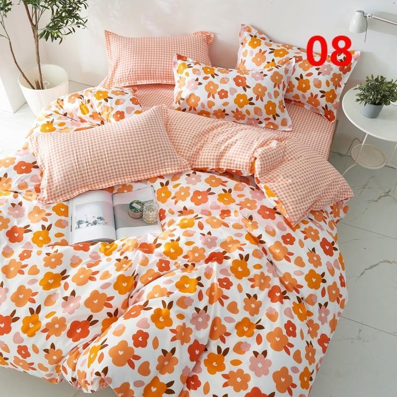 布団カバー 3点セット シングル 150x210cm シーツカバー 寝具セット 枕カバー 掛けカバー ベッド用 洋式和式兼用 洗える 北欧風 柔らかい 防ダニ 抗菌防臭|ksmc-shop|08