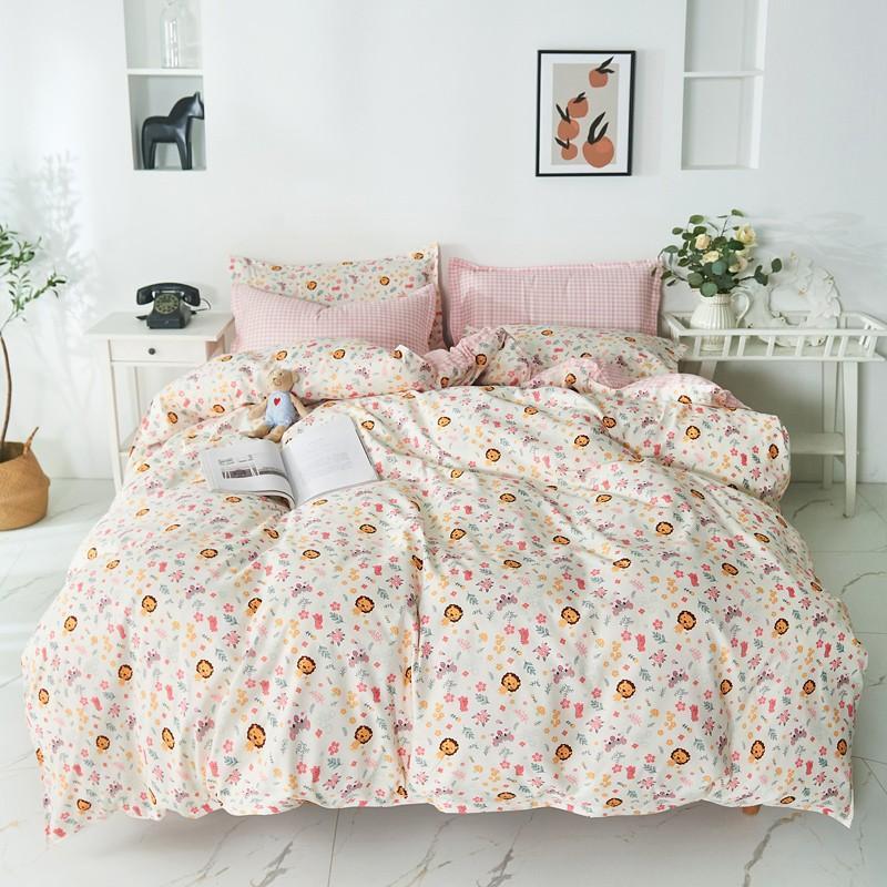 布団カバー 3点セット 寝具セット 枕カバー 掛け布団カバー 寝具カバー 洋式和式兼用 ベッド用 シングル 防臭 防ダニ 抗菌 洗える 速乾 かわいい|ksmc-shop|11