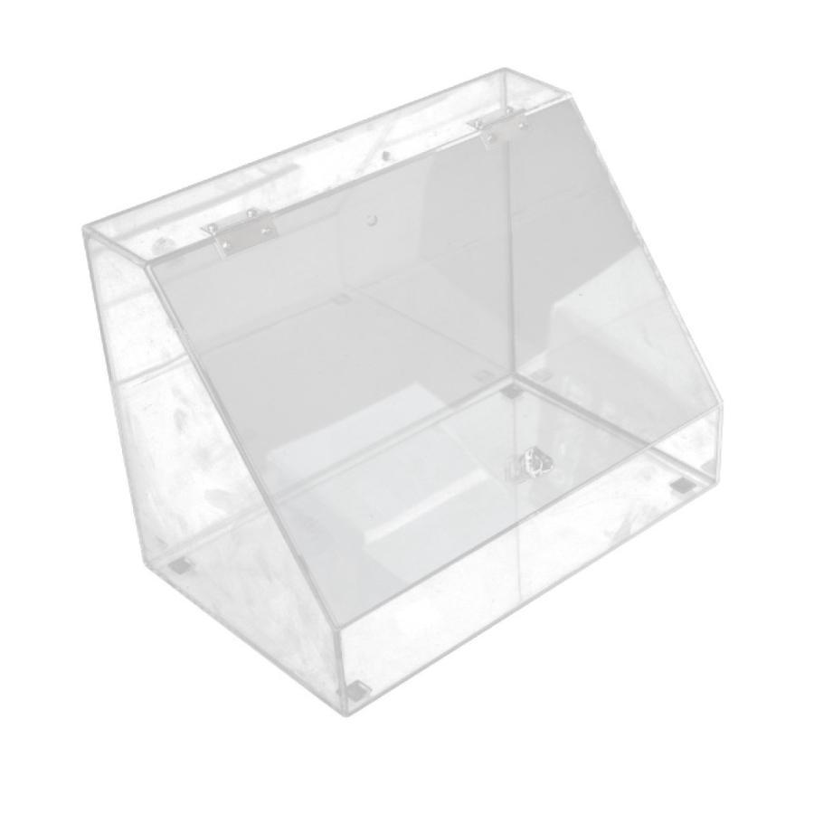 アクリルケース 収納ケース ディスプレイ Lサイズ 特価 ふた付きスタンドラック 小物 化粧品 コスメボックス 時計 引き出物 ネイル用品 _87261 アクセサリー