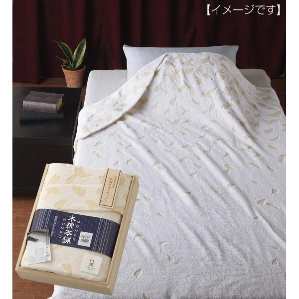 木綿本舗 愛媛今治産タオルケット(木箱入)シングル 洗える
