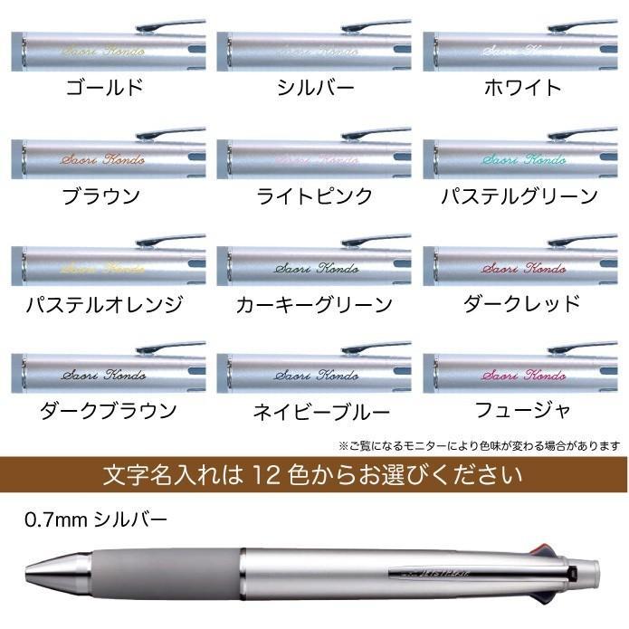 ジェットストリーム 名入れ無料 彫刻 送料無料 三菱鉛筆 4&1 多機能ペン 限定 新発売 ボールペン シャープペン 記念品 プレゼント 卒業 入学 就職 半永久的 kss-s 13