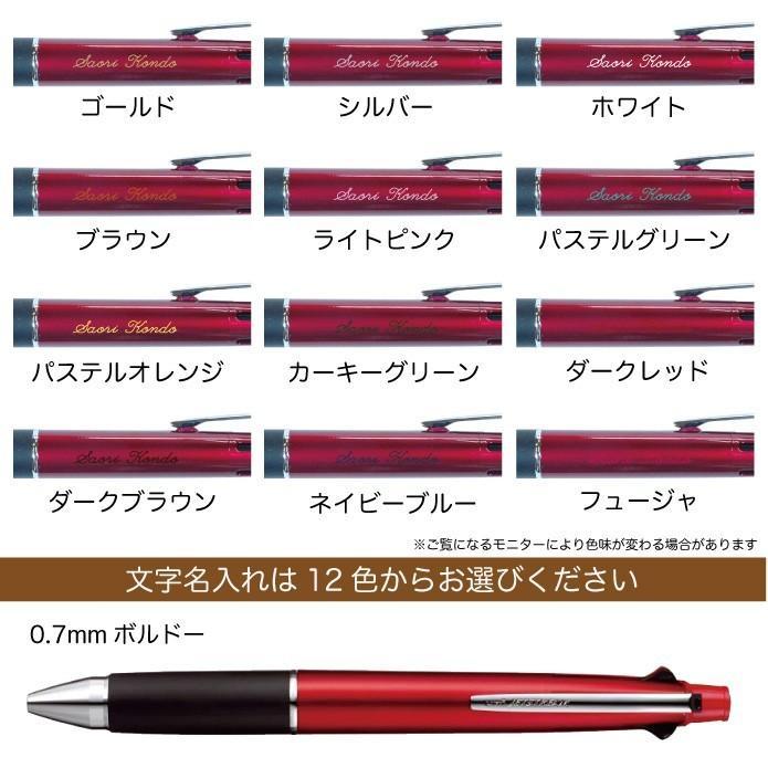 ジェットストリーム 名入れ無料 彫刻 送料無料 三菱鉛筆 4&1 多機能ペン 限定 新発売 ボールペン シャープペン 記念品 プレゼント 卒業 入学 就職 半永久的 kss-s 17
