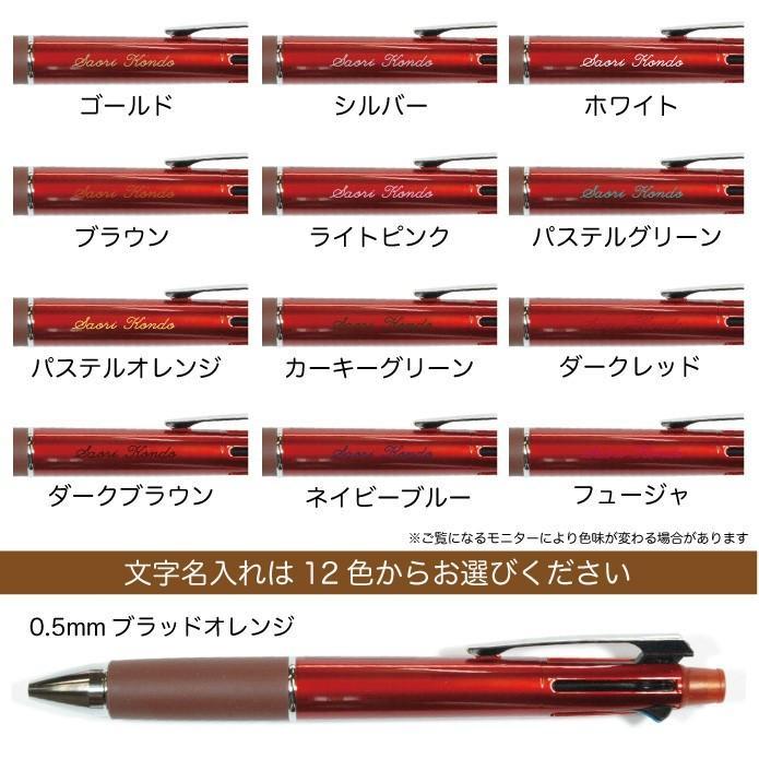 ジェットストリーム 名入れ無料 彫刻 送料無料 三菱鉛筆 4&1 多機能ペン 限定 新発売 ボールペン シャープペン 記念品 プレゼント 卒業 入学 就職 半永久的 kss-s 18