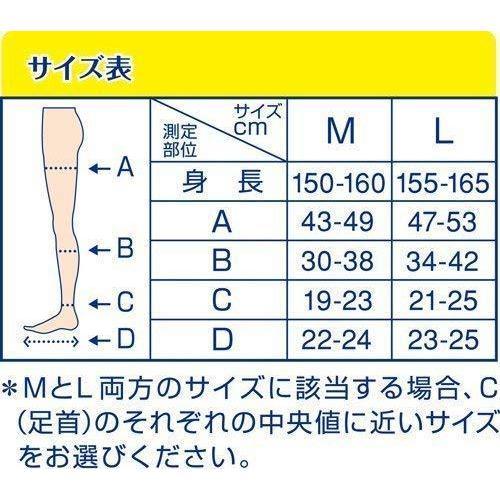 おそとでメディキュット ハイソックス M 着圧ソックス 着圧 加圧|ksstore-yh|04