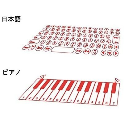 Serafim Keybo 日本語キーボード+ピアノ鍵盤対応の投影式キーボード|ktrm|05