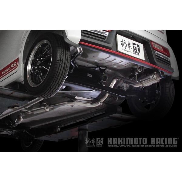 柿本改 GTボックス06&S マフラー アルトワークス DBA-HA36S S44335 KAKIMOTO RACING 柿本 カキモト GTbox06&S スポーツマフラー|ktspartsshop2|05