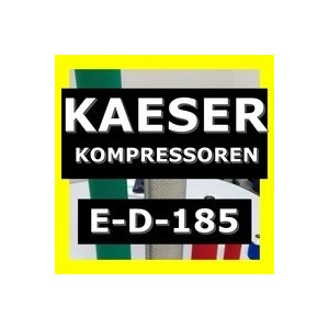ケーザー <KAESER> E-D-185互換エレメント(FDダストフィルター FD185など用)