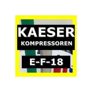 ケーザー <KAESER> E-F-18互換エレメント(FF最微細マイクロフィルター FF18用)