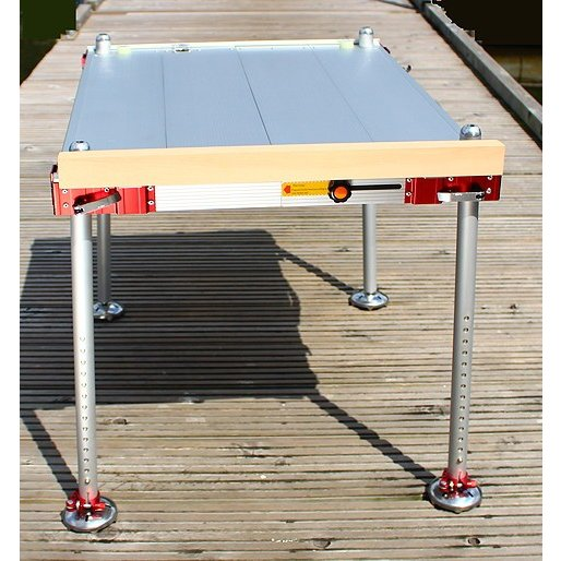 釣宝 スーパー釣台(2本スライド)+サイドテーブル