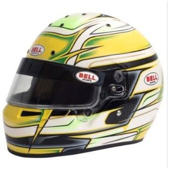 新品同様 ☆【Bell】KC7-CMR カート ヘルメット - Venom Yellow サイズ 58cm, 洛中高岡屋 1bd00b79