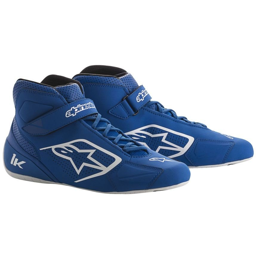 ☆【Alpinestars】Tech 1-Kカートブーツ ブルー/ホワイト UK 3.5 / Eur 36
