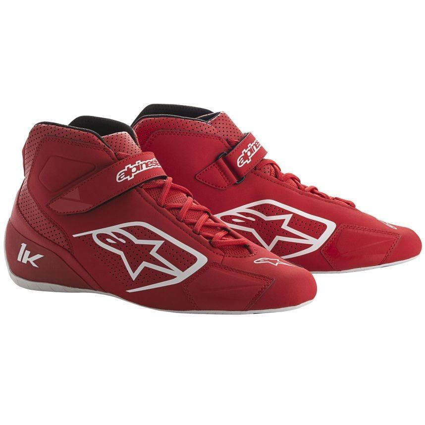 スーパーセール期間限定 ☆【Alpinestars】Tech 1-Kカートブーツ 赤//白 8 UK 8/ 42 Eur 42, ROSEGRAY:e5bd2d3e --- airmodconsu.dominiotemporario.com