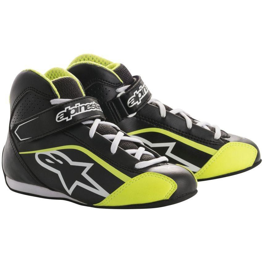 配送員設置 ☆【Alpinestars/】Tech 1-KSキッズカートブーツ 30 ブラック/ホワイト/フルロイエロー UK UK 11.5/ Eur 30, 創新:c6a20d6d --- airmodconsu.dominiotemporario.com