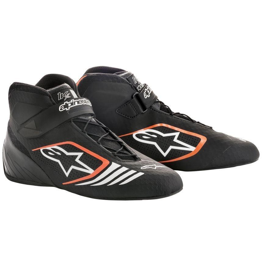 ☆【Alpinestars】Tech 1-KXカート ブーツ  ブラック/フロロオレンジ UK 9 / Eur 43