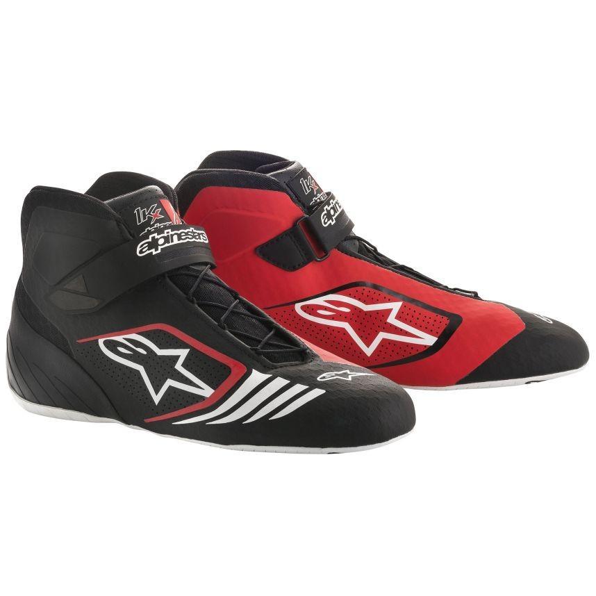 ☆【Alpinestars】Tech 1-KXカート ブーツ  ブラック/レッド/ホワイト UK 7 / Eur 40.5