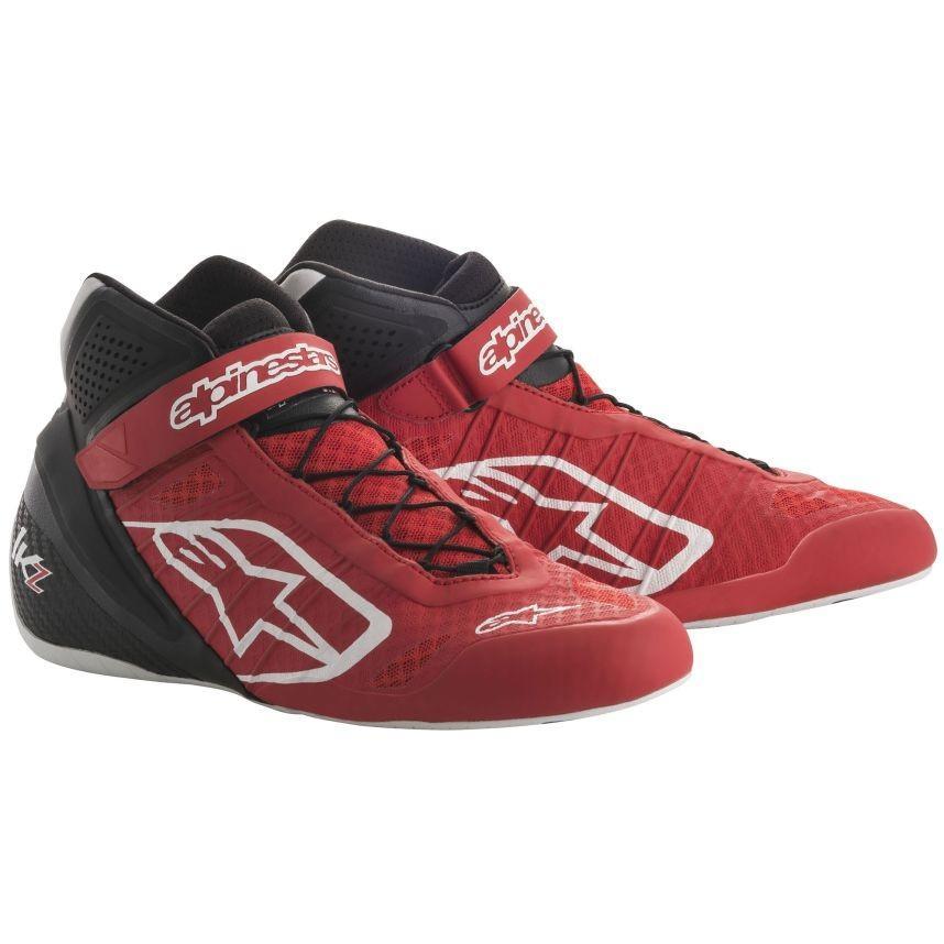 新しいスタイル ☆ 1-KZ【Alpinestars】Tech UK 1-KZ Kart Boots 赤、黒/ UK 10/ Eur 44, オグニマチ:c5d4b9fb --- airmodconsu.dominiotemporario.com