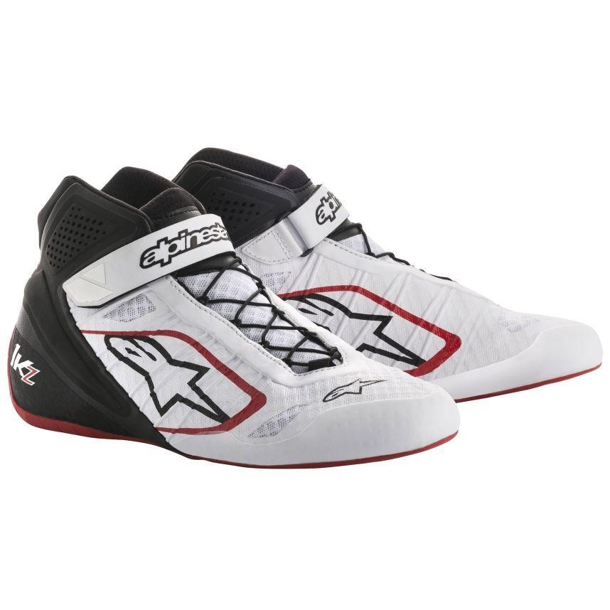 高速配送 ☆/【Alpinestars】Tech 1-KZ Kart Boots ホワイト/ブラック UK 44/レッド UK 10/ Eur 44, 旅行用品のホリデイホリデイ:c20cc580 --- airmodconsu.dominiotemporario.com