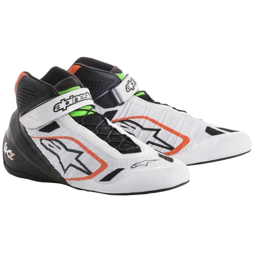 売り切れ必至! ☆【Alpinestars】Tech 1-KZ 1-KZ Eur Kart Boots ホワイト/ブラック/フルロオレンジ Kart/フルログリーン UK 10.5/ Eur 44.5, CARPARTS TRIADIC:6574e52e --- airmodconsu.dominiotemporario.com